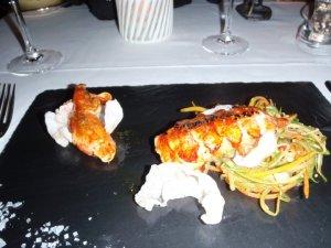 Lobster - Asian Greens (Ski)