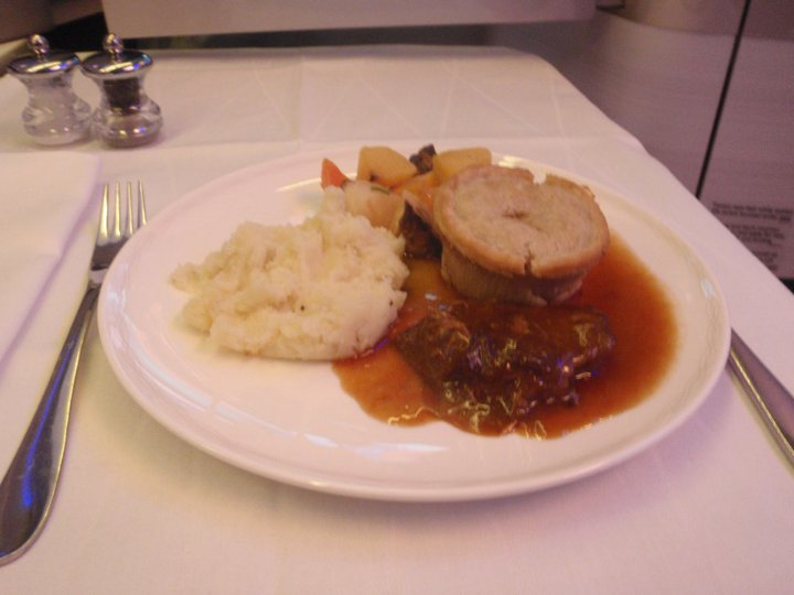 Braised Herefordshire Beef and mushroom pie