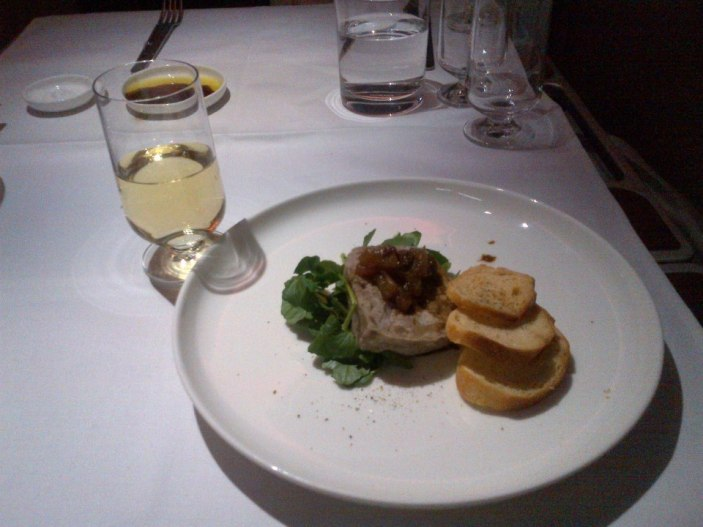Duck and Pistachio Terrine with Spiced Apple Chutney with Picardy Chardonnay