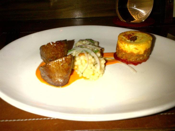 Duo of Lamb with Piquillo Pepper and Moussaka