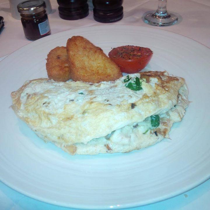 Shrimp Egg White Ommeltee