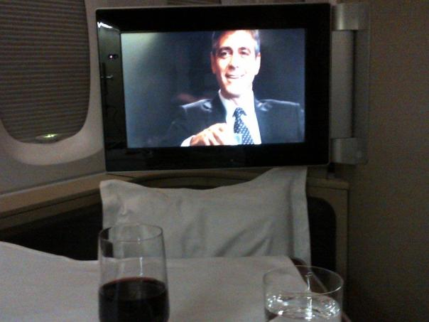 Watching Up in the Air - In the Air!